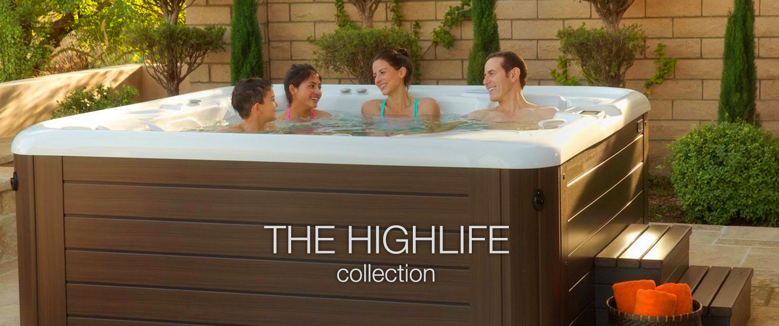 the higlife spa collection by hotspring