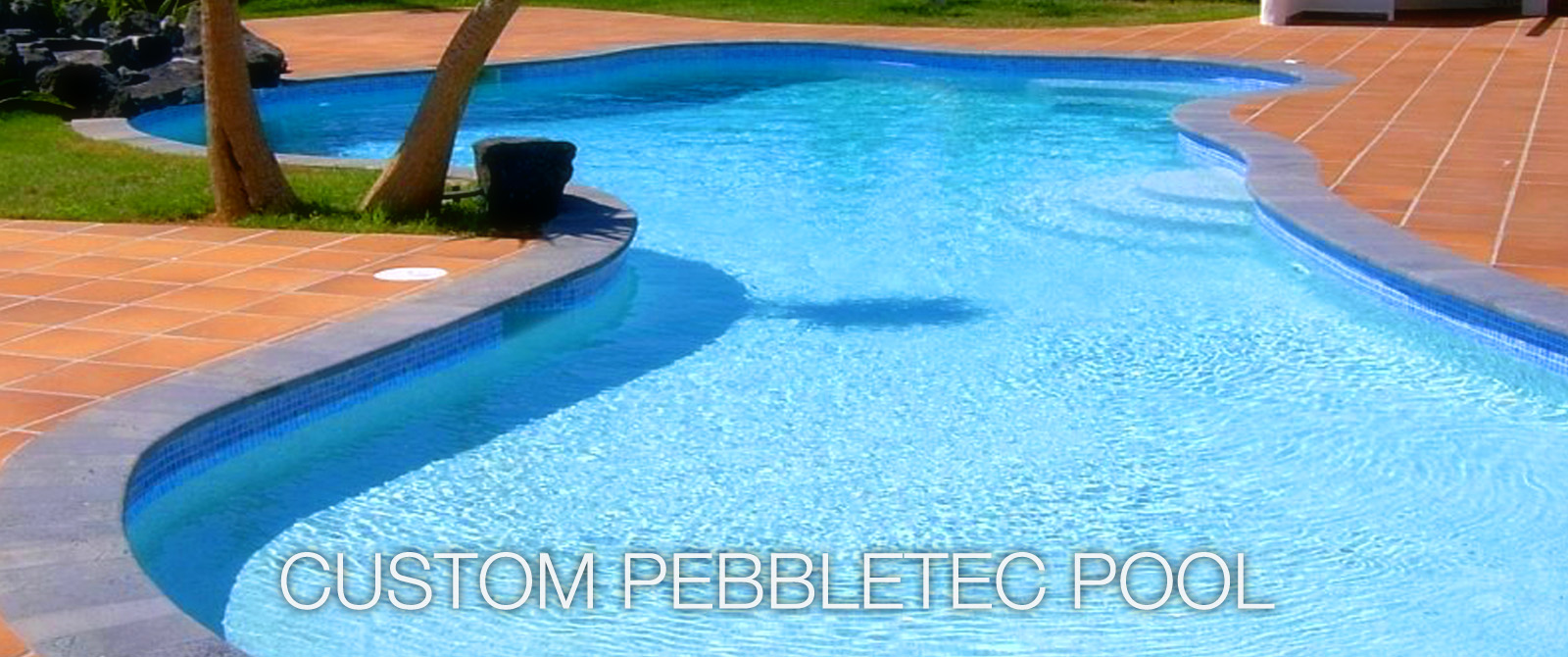 Pebble tec pools Lanzarote