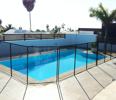 pool safety mesh lanzarote