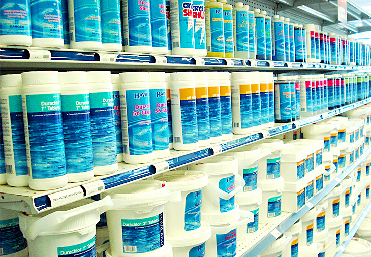 pool chemicals lanzarote