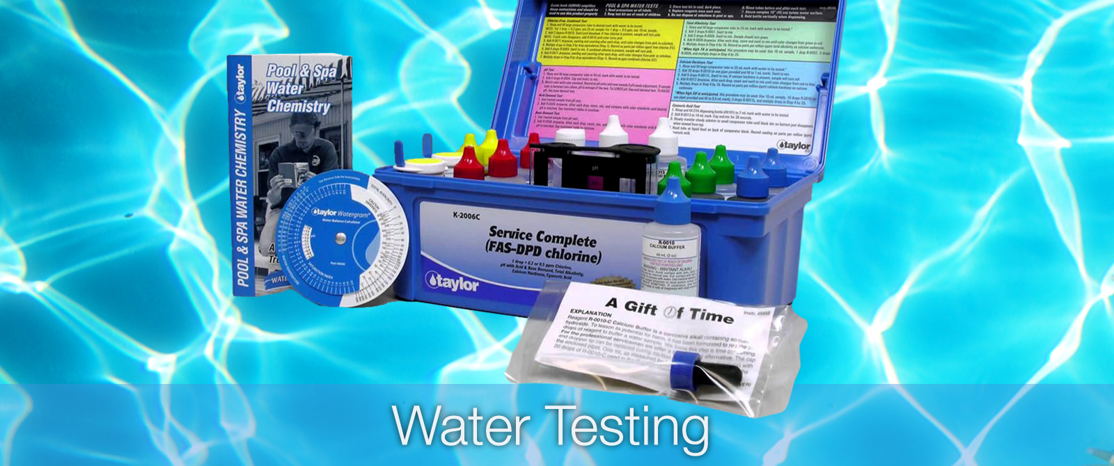 pool water testing in lanzarote