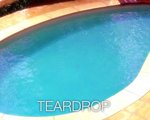 teardrop fibreglass pools lanzarote