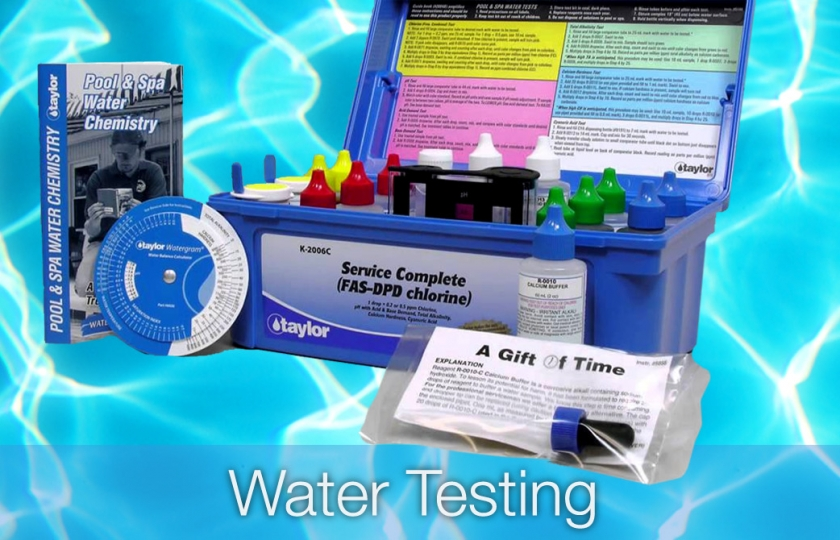 pool water testing in lanzarote